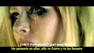 Avril Lavigne   Wish You Were Here Lyrics   Sub Español Official Video