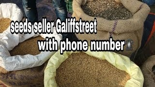 Galiffstreet All birds SEEDS PRICE AND THE SELLERS PHONE NUMBER WHO CAN TRANSPORT SEEDSFull HD