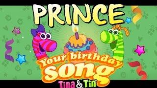 Tina&Tin Happy Birthday PRINCE