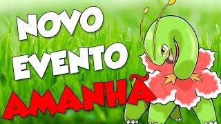 NOVO EVENTO GRAMA AMANHÃ -  Pokémon Go