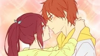 Free! Momo and Gou: It girl