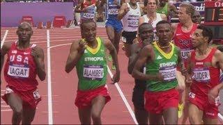 Men's 5000m Round 1 Full Races - London 2012 Olympics