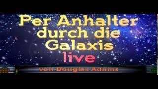 """""""Per Anhalter durch die Galaxis - Live"""", MäGäDäM, Kinotrailer 1997"""