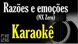 Razões e emoções - NX Zero (karaokê violão)