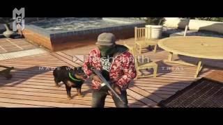 GTA 5 CLIP - LACRIM POUTINE- MMG ( vidéo bonus ).
