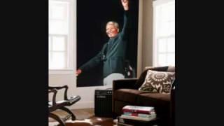 tribute to Nelson Mandela-waving flag