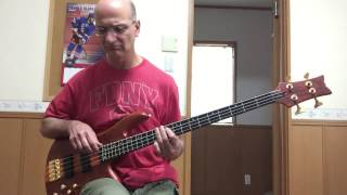 MASH Theme song bass cover.