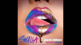 SWALLA - JASON DERULO FT NICKI MINAJ AND TY DOLLA SIGN (LYRIC VIDEO)