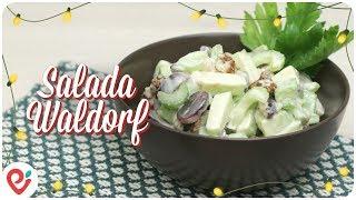 Salada Waldorf (Vegan) - Especial de Natal