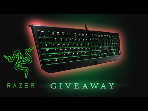 GIVEAWAY - Razer Blackwidow Ultimate 2016