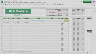 Como baixar e utilizar a Planilha de Gestão de banca do PickMasters + Grupo grátis de palpites