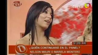 Mariela o Nelson Mauri  deciden su continuidad en Intrusos