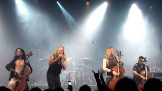 APOCALYPTICA - END OF ME - LIVE @ THE WULFRUN, WOLVERHAMPTON 04.11.2010