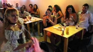 NUT CAFÉ E ARTE - DANÇA CIGANA - CLÁUDIA SARTORE - 1º Encontro de Cultura e Arte