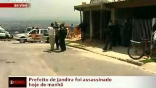 Áudio de rádio capta som dos tiros que mataram prefeito de Jandira (SP)
