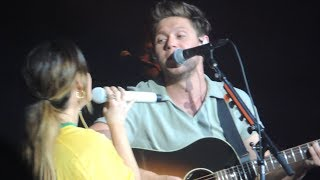 Niall Horan - Seeing Blind feat Maren Morris live Sao Paulo, Brasil 07/10/18 HD