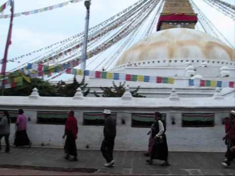 BODNATH ( Décollage vers ABU DHABI escale ) & ensuite Direction le NEPAL……