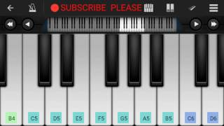 Jadoo Teri Nazar Piano Tutorial || Udit Narayan || - Mobile Perfect Piano Tutorial