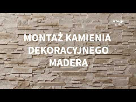 Montaż kamienia dekoracyjnego Madera Stegu