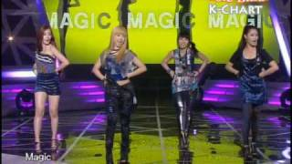 [K-Chart] #5. Magic - SECRET (2010. 5. 14 / Music Bank)