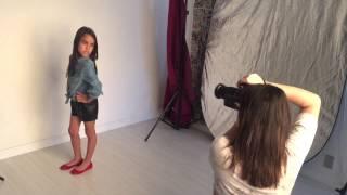 Making off 2 da modelo mirim NICOLE MACÊDO! Foto de estúdio! SP. 6 aninhos.