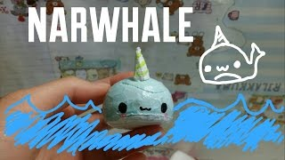 Narwhale squishy tutorial^-^