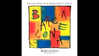 """""""Exercises In Free Love""""- Freddie Mercury & Montserrat Caballe - Barcelona [Special Edition] (2012)."""