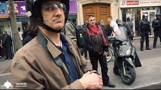 LOI TRAVAIL 14/4/2016 • PARIS : DES RG DÉGUISÉS EN JOURNALISTES ?
