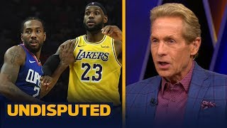 Skip and Shannon react to Kawhi's Clippers topping LeBron's Lakers in 2019 opener   NBA   UNDISPUTED