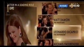Discurso de agradecimento de Leonardo Di Caprio no Oscar 2016 (legendado em português)