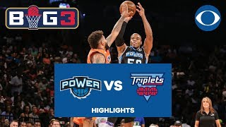 Corey Maggette CALLS GAME, tells Triplets to go home after BIG3 win | CBS Sports
