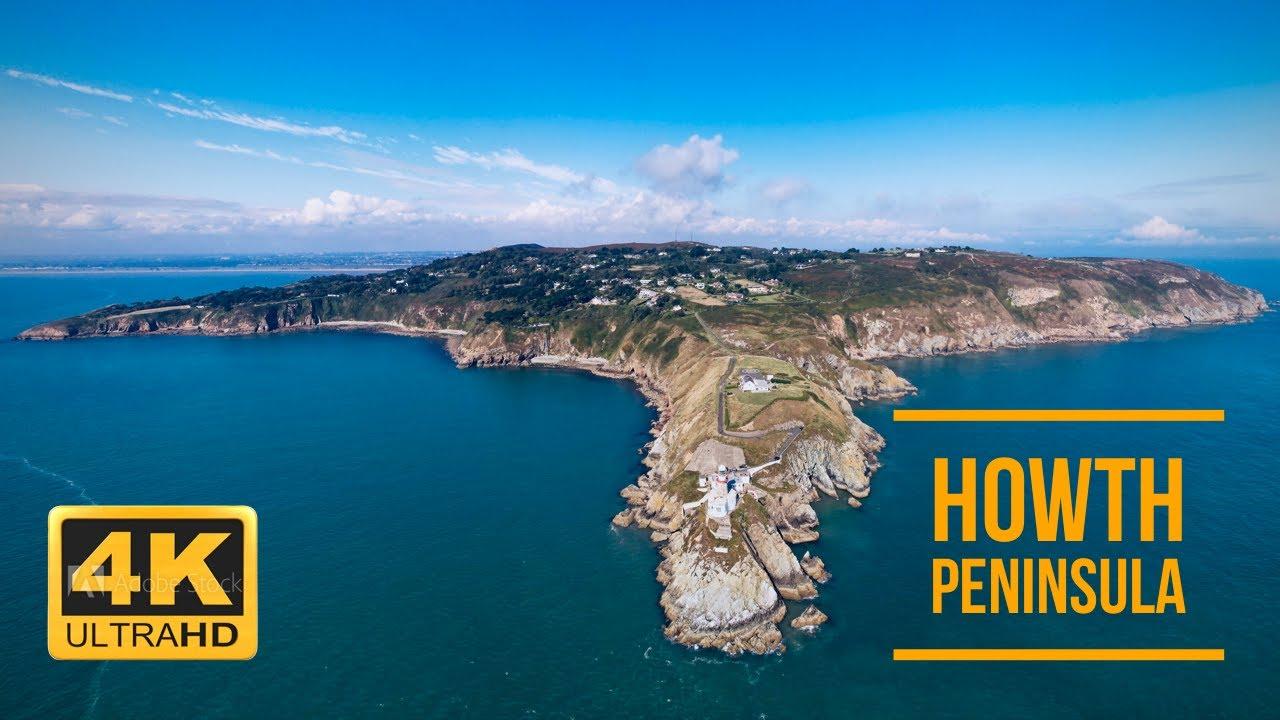 Howth Peninsula 4K | Dublin | Ireland | Baily Lighthouse