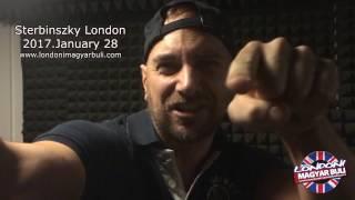 Sterbinszky London - 2017 Januar 28 Meghívó