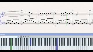 Partitura Piano Vivir Sin Aire ( Mana ) demo