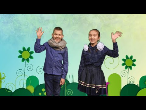 Детская передача студии местного Караидельского телевидения