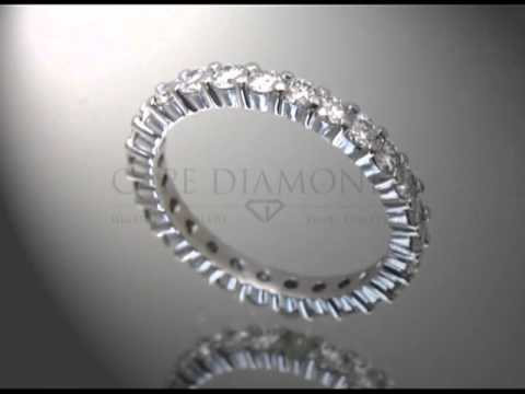 Eternity ring,small diamonds around the band,engagement ring