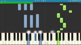 R3HAB - Sakura - Piano Tutorial