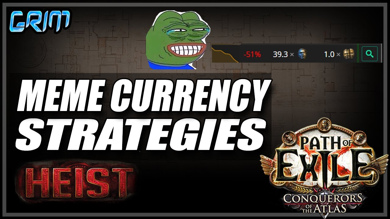 Grimro - [PoE 3.12] Meme Currency Strats Of Heist League