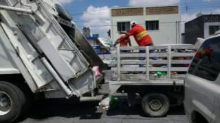 Atiende municipio recolección de basura en el Centro Histórico