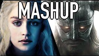 Game of Thrones + Skyrim MASHUP