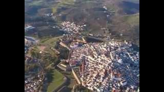 Elvas-Património da humanidade-vista do ar