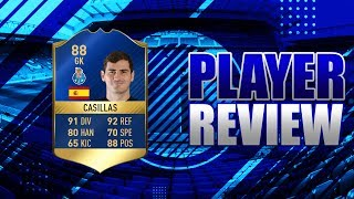 FIFA 17 - TOTS 88 RATED IKER CASILLAS!!! PLAYER REVIEW!!! FIFA 17 ULTIMATE TEAM PLAYER REVIEW!!!