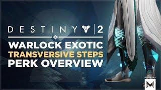 Destiny 2: Warlock Exotic 'Transversive Steps' Perk Overview And Gameplay