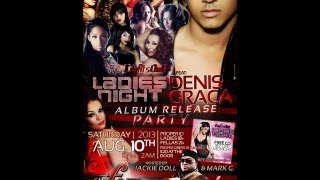 LIGHTS OUT LADIES NIGHT ALBUM RELEASE PARTY FT. DENIS GRACA