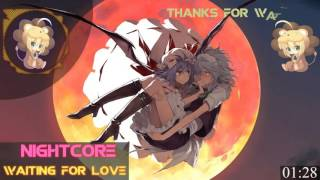 Nightcore - Waiting For Love [ Addal Remix ]