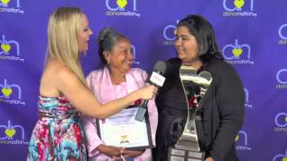 DonorNation School Volunteer of the Year Grand Prize Winner Hermelinda Figueroa