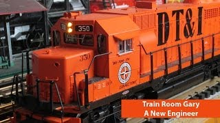 Train Room Gary • Makes a Baby Lionel Announcement
