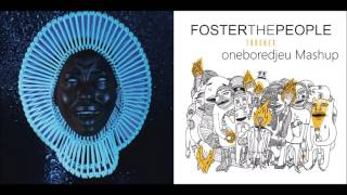California Kicks - Childish Gambino vs. Foster The People (Mashup)