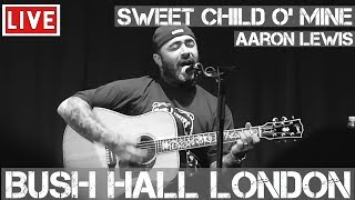 Aaron Lewis sings Sweet Child O'Mine by Guns N' Roses (Live and Acoustic) in [HD]