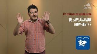 Cartunista Tikinho divulga atrações do 13º Festival de Verão UFMG